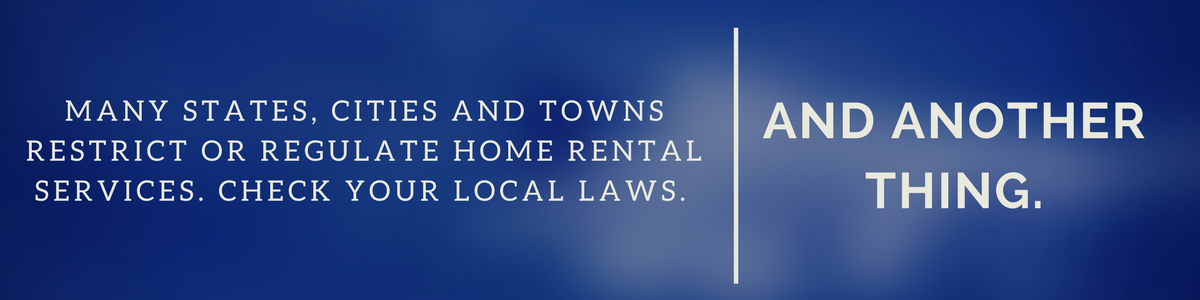 local laws and renting on airbnb